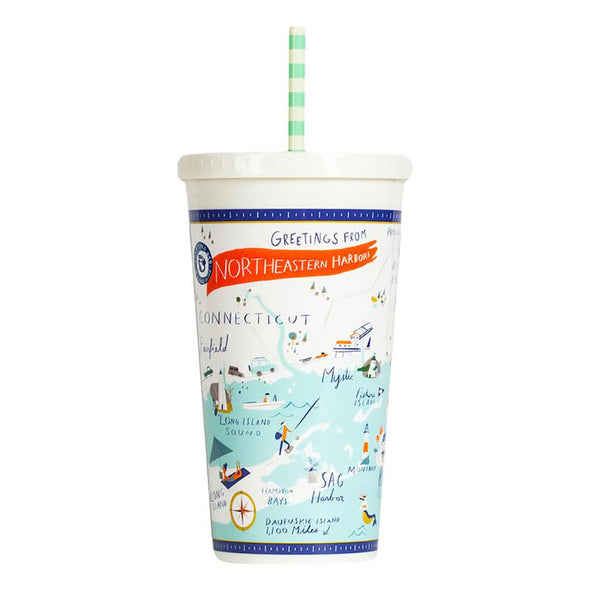 NORTHEASTERN HARBORS INSULATED DRINK TUMBLER