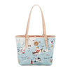 NORTHEASTERN HARBORS SMALL TOTE (W/ZIPPER)