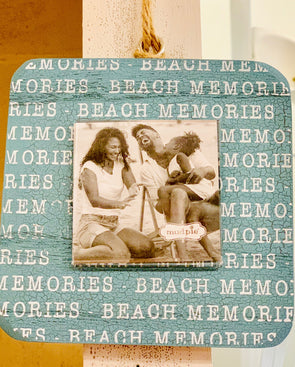 Beach Memories Shell Frame