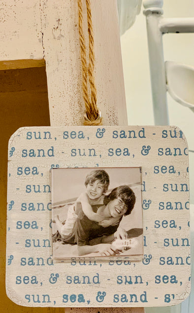 Sun Sea Shell Frame