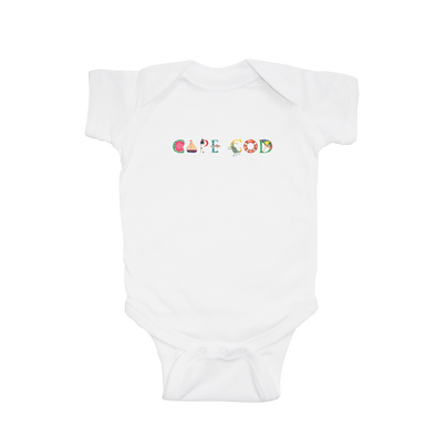 Baby Short Sleeve Cape Cod Summer Onsie 6-12mo