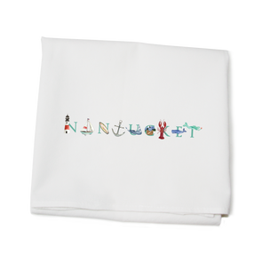 Flour Sack Towel Nantucket