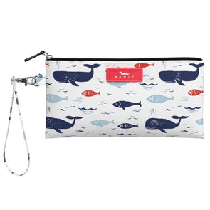 Kate Wristlet-All is Whale
