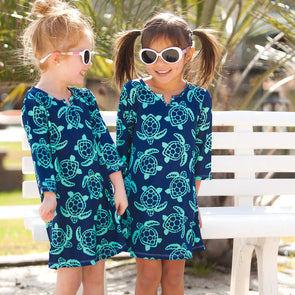 TUNIC GIRL'S TOTALLY TURTLE