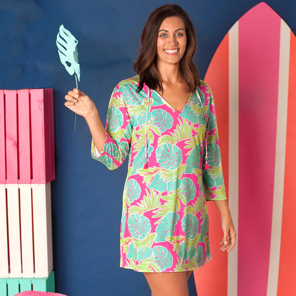 TUNIC WOMEN'S TOTALLY TROPICS