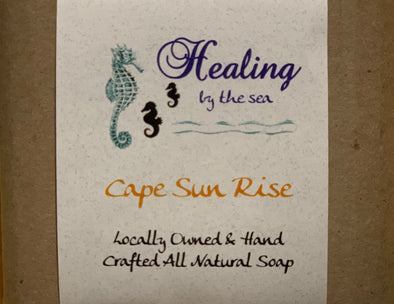 All-Natural Handmade Soap - Cape Sunrise