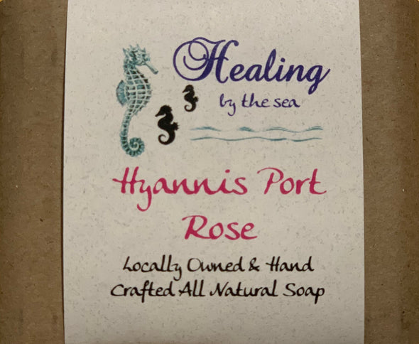 All-Natural Handmade Soap - Hyannis Port Rose