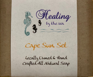 All-Natural Handmade Soap - Cape Sunset