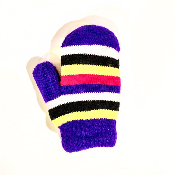 Toddler Lined Mittens - Purple