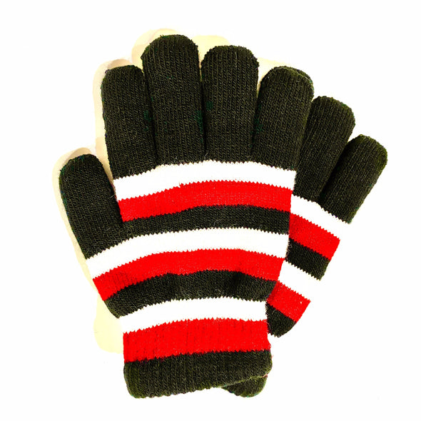 Kids Gloves - Black/Red
