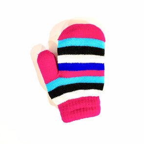 Toddler Lined Mittens - Pink