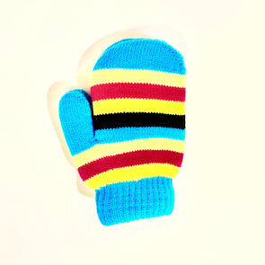 Toddler Lined Mittens - Aqua