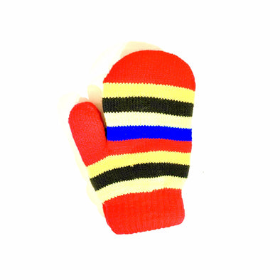 Toddler Lined Mittens - Red