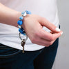 Keychain | Wrist - Small | Porcelain Blue