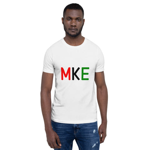 MKE Black Short-Sleeve Unisex T-Shirt