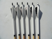 Wood Arrows, Spined and Weight Matched. 6 Packs