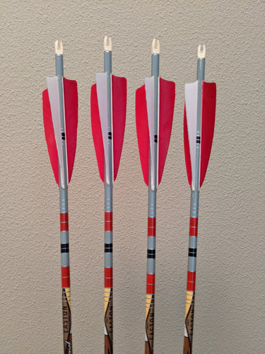 Easton Axis Traditional 400 Arrows, Dozen