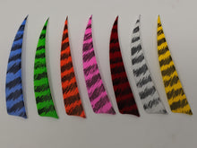 "Archery Past 4"" Barred Feathers, Shield or Parabolic"