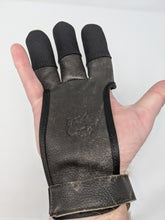 Archery Past Buffalo Leather Shooting Glove