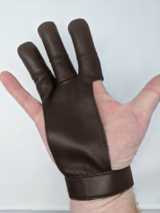 Archery Past Leather Shooting Glove