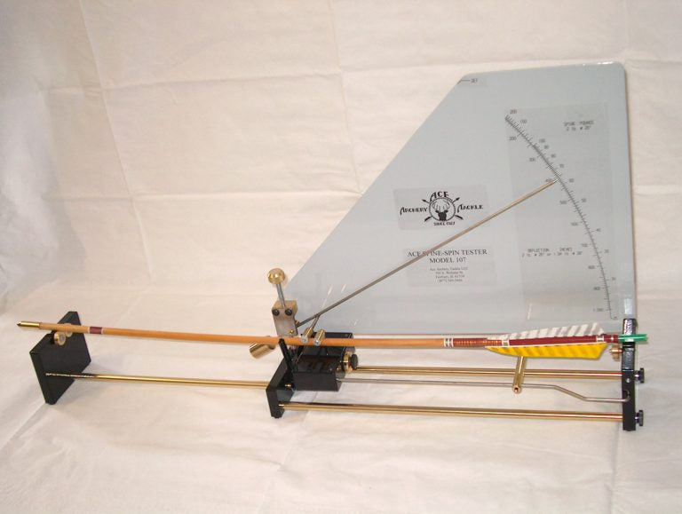 Ace Archery Spine-Spin Tester