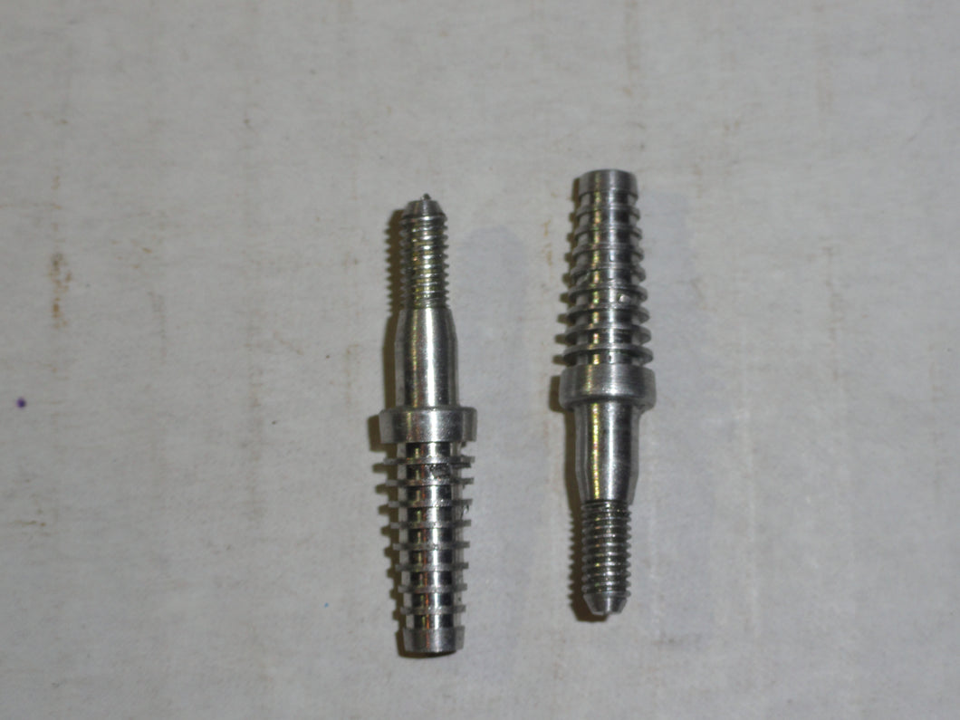Aluminum Screw In Broadhead Adapters by Zwickey