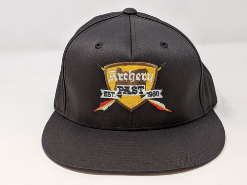 Archery Past Baseball Hat - Black