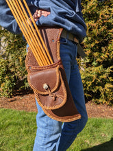 Handmade Leather Hip Quiver - Right Hand H3