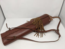 Archery Past Burgundy Back Quiver with Fringe