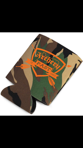 Archery Past Can Koozie