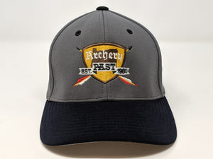 Archery Past Baseball Hat - Dark Blue & Gray