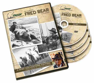 Complete Fred Bear DVD Collection, 4 Discs