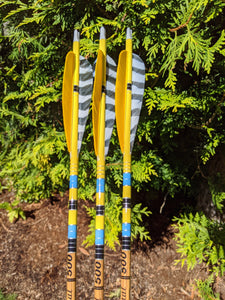 Gold Tip Traditional Carbon Arrows 500 Spine