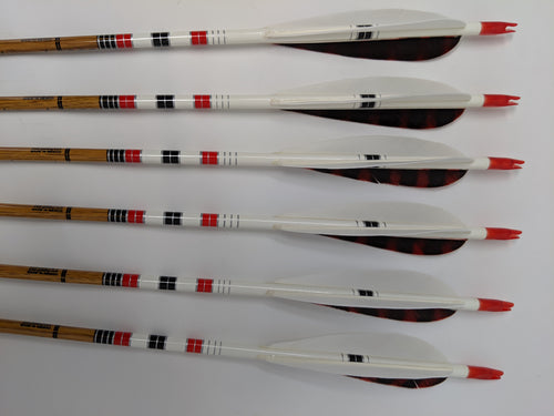 600 Spine Gold Tip Traditional Carbon Arrows