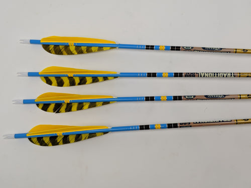 400 Spine Gold Tip Traditional Classic Carbon Arrows