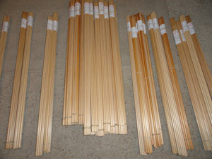 Premium Old Growth Port Orford Cedar Wood Arrow Shafts