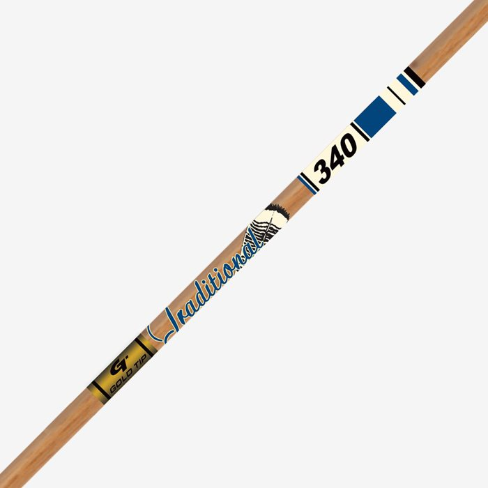 Gold Tip Traditional XT Carbon Arrow Shafts