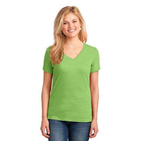 Explore Academy Ladies V-Neck Short SleeveT-Shirts