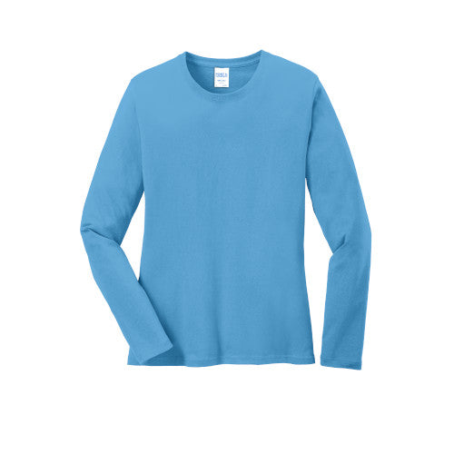 Explore Academy Ladies Long Sleeve T-Shirt Small