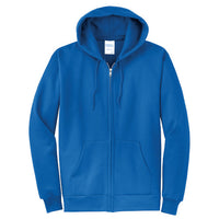 Explore Academy Core Fleece Adult Hooded Zip Up Sweatshirt  Medium