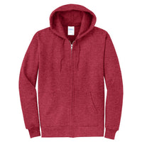 Explore Academy Core Fleece Adult Hooded Zip Up Sweatshirt  Three Extra Large (3XL)
