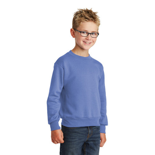 Explore Academy Youth Core Fleece Crewneck Sweatshirt  XS to XL