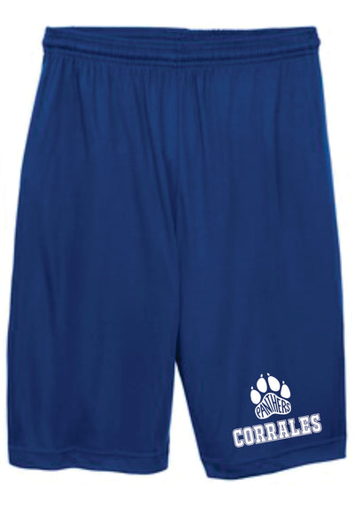 MYP Shorts  with CIS activewear logo  Royal Color Only