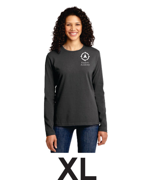 Explore Academy Ladies Long Sleeve T-Shirt Extra Large (XL)