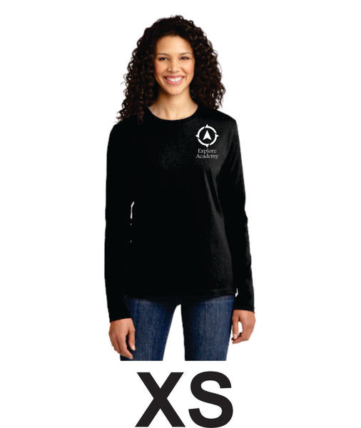Explore Academy Ladies Long Sleeve T-Shirt XS