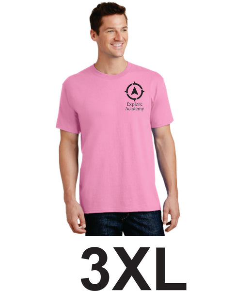 Explore Adult T-Shirt Three Extra Large  (3XL)