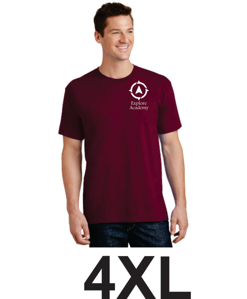 Explore Adult T-Shirt Four Extra Large  (4XL)