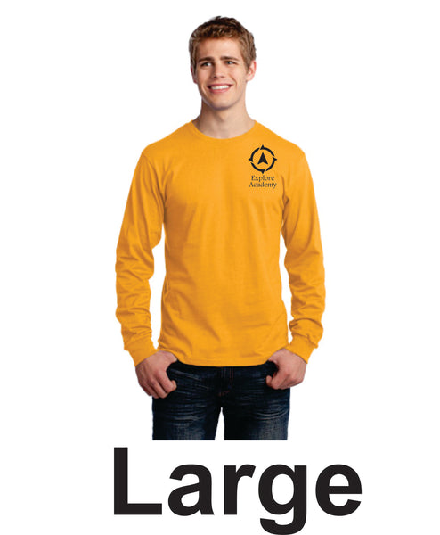 Explore Academy Adult Long Sleeve T-Shirt Large