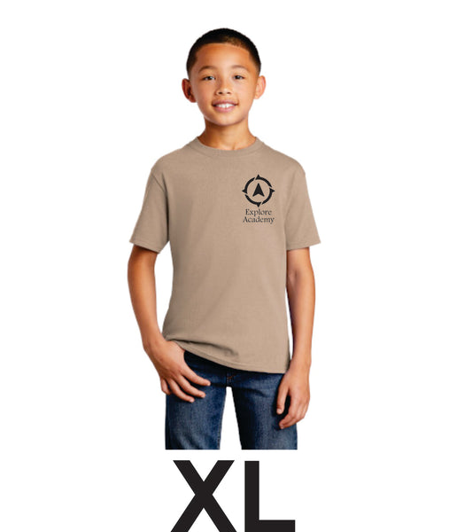 Explore Youth short sleeve T-Shirt Extra Large (XL)