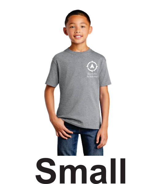 Explore Youth short sleeve T-Shirt Small